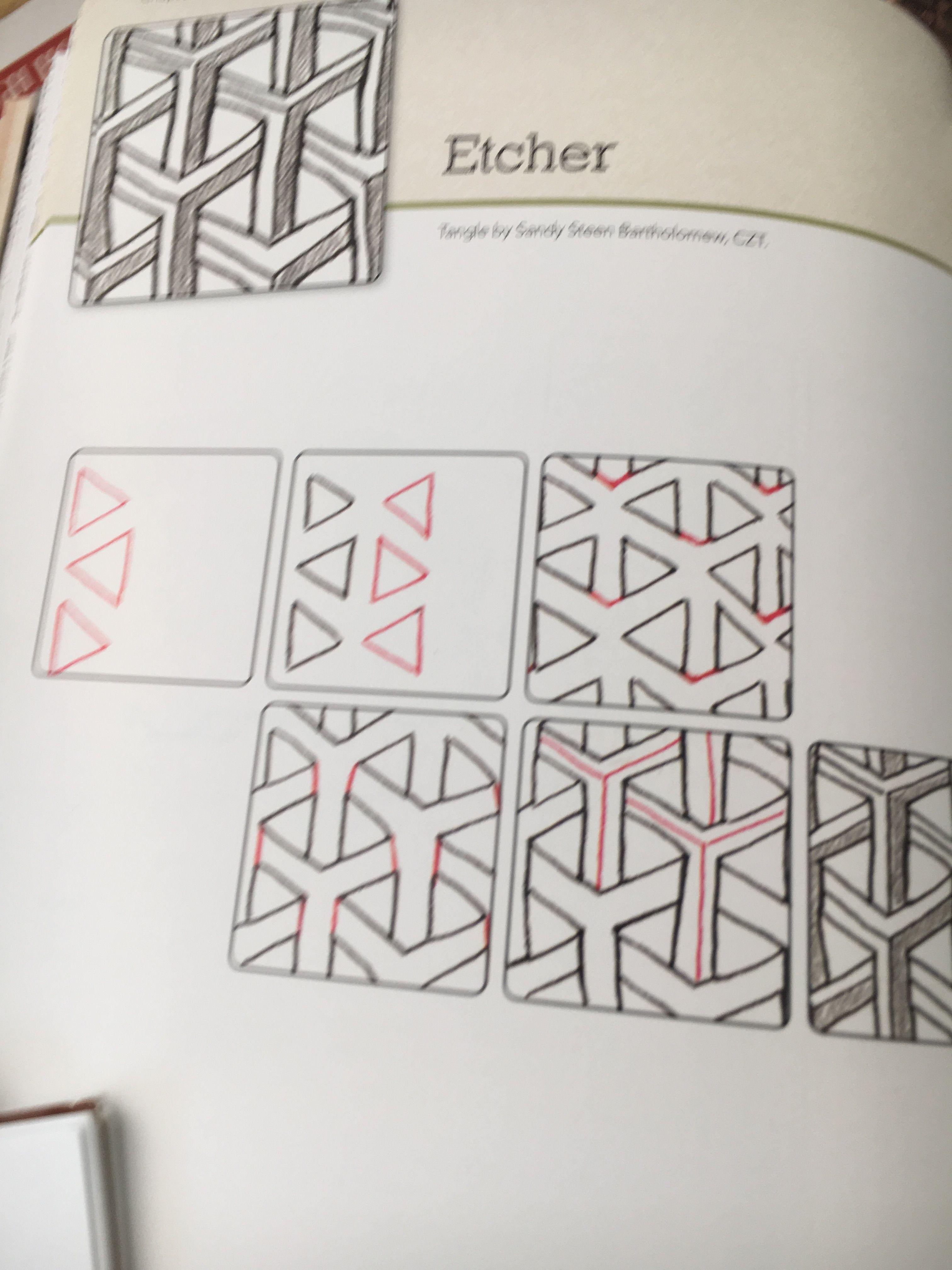 Pin Von Viermalmutter B Auf Zentangle Pinterest Zentangle
