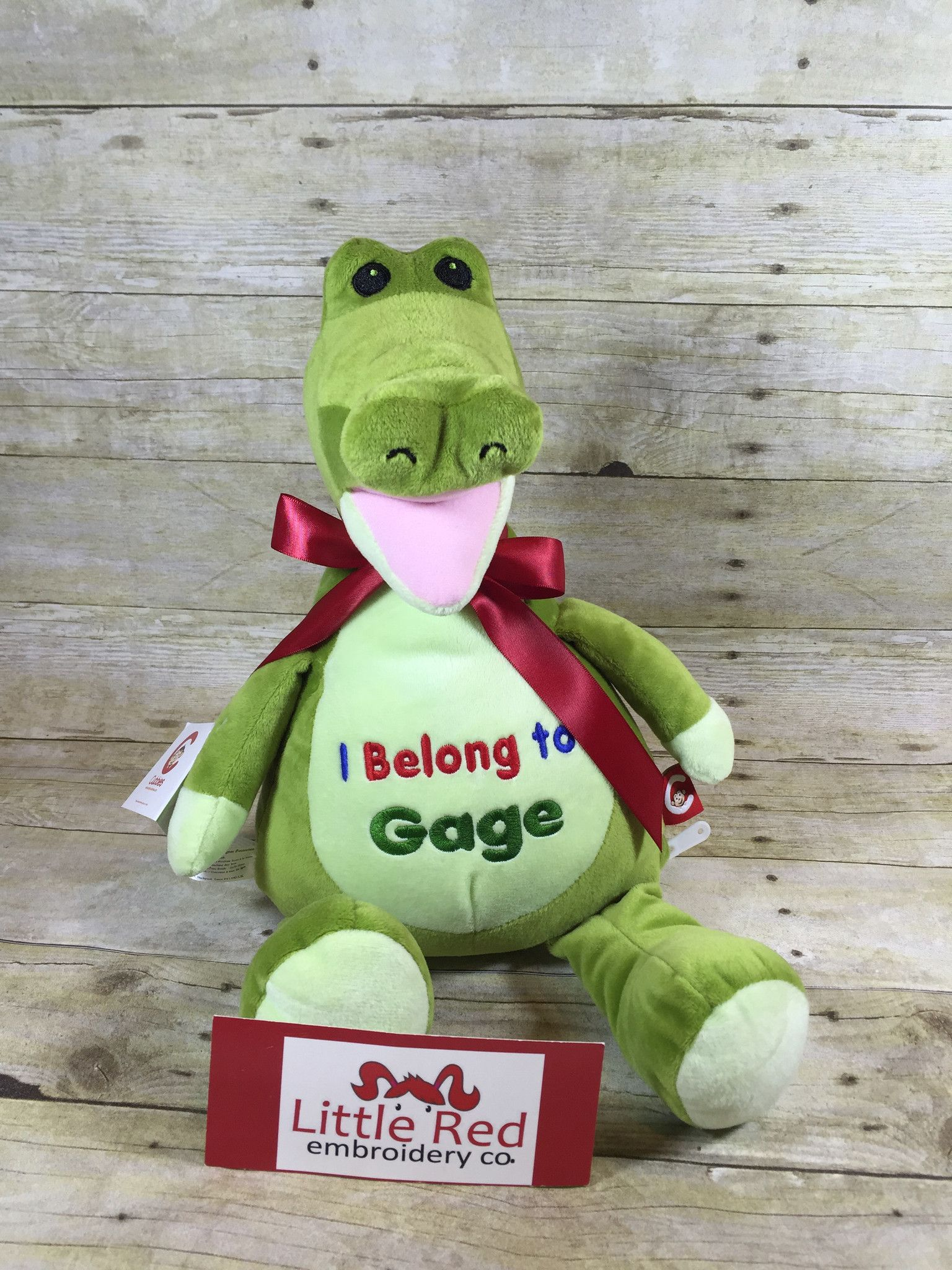 Find This Pin And More On Cubbies™ Embroidered Stuffed Animals