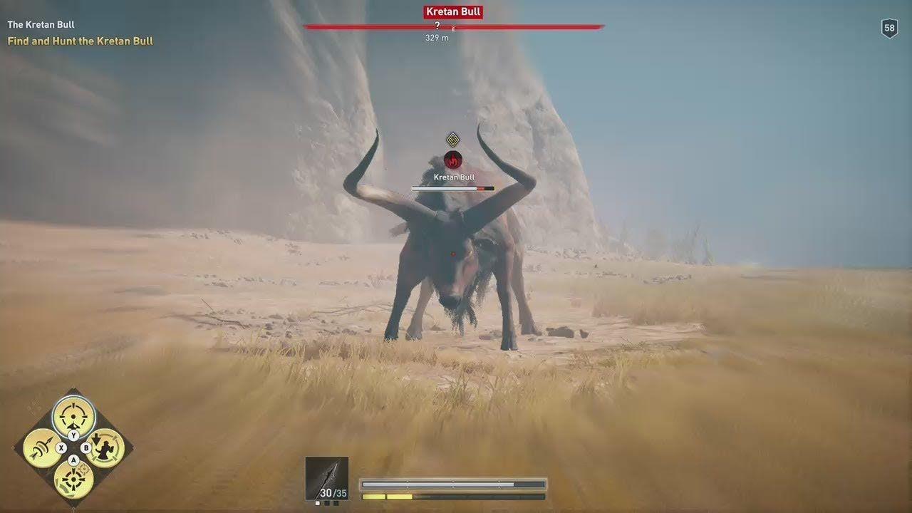 Assassin S Creed Odyssey Daughters Of Artemis The Kretan Bull