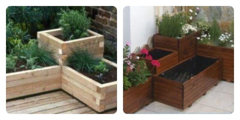 Jardineras de palets buscar con google hogar for Jardineras con palets de madera