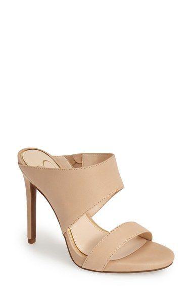 18a357b06 Jessica Simpson 'Romy' Leather Platform Mule (Women) | Nordstrom ...