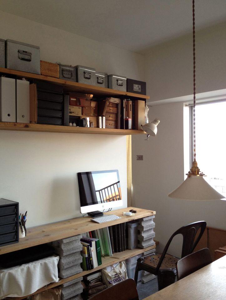 書斎レイアウト実例集 仕事に趣味にはかどる書斎に変身 リノベーション リフォームならhousy インテリア 書斎 インテリア インテリアアイデア