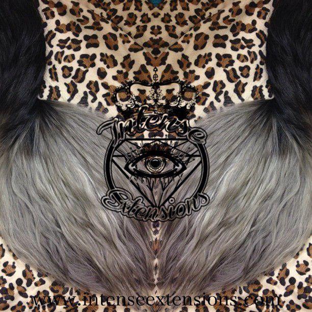 2 bundles of 30 32 black to grey ombre custom hair extensions 2 bundles of 30 32 black to grey ombre custom hair extensions pmusecretfo Choice Image
