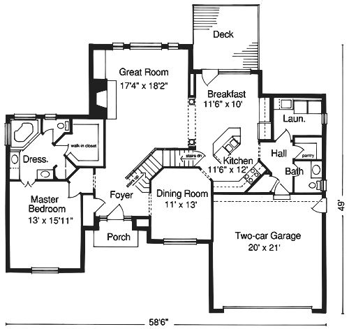 Residential Designs, House Plans, Floor Plans, Blueprints