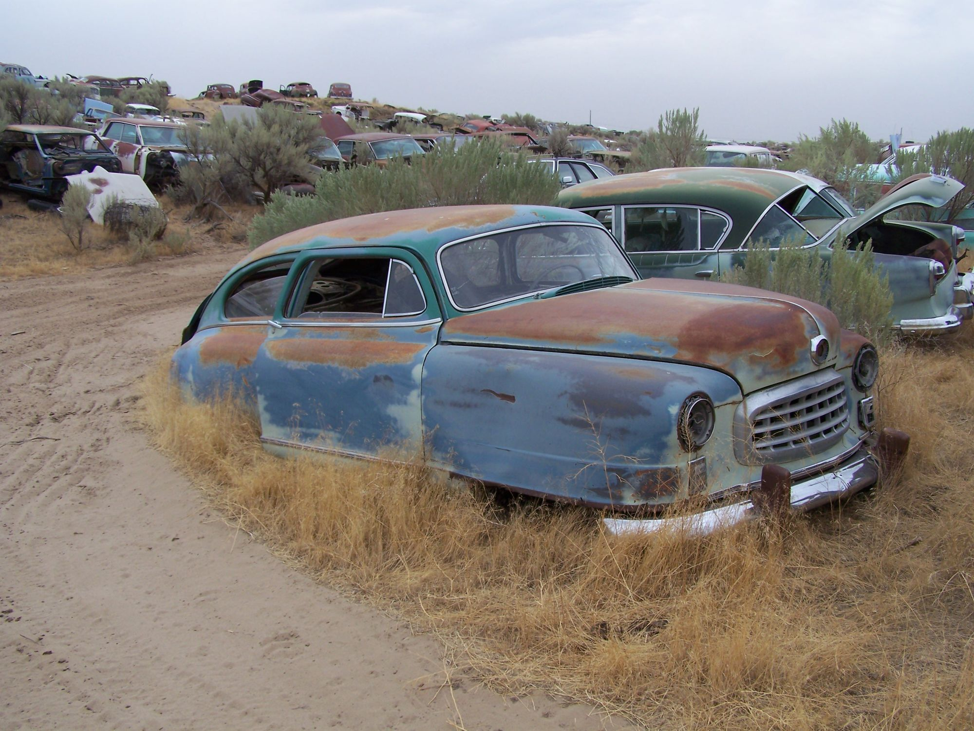 Junkyard tours 8,000 cars revisited Junkyard cars