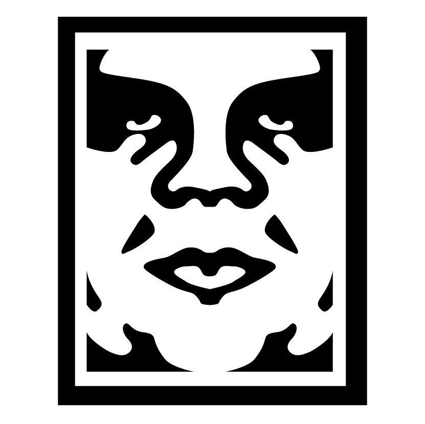 Logo Obey Vinyl Decal Stickers Vinyl Decals Obey