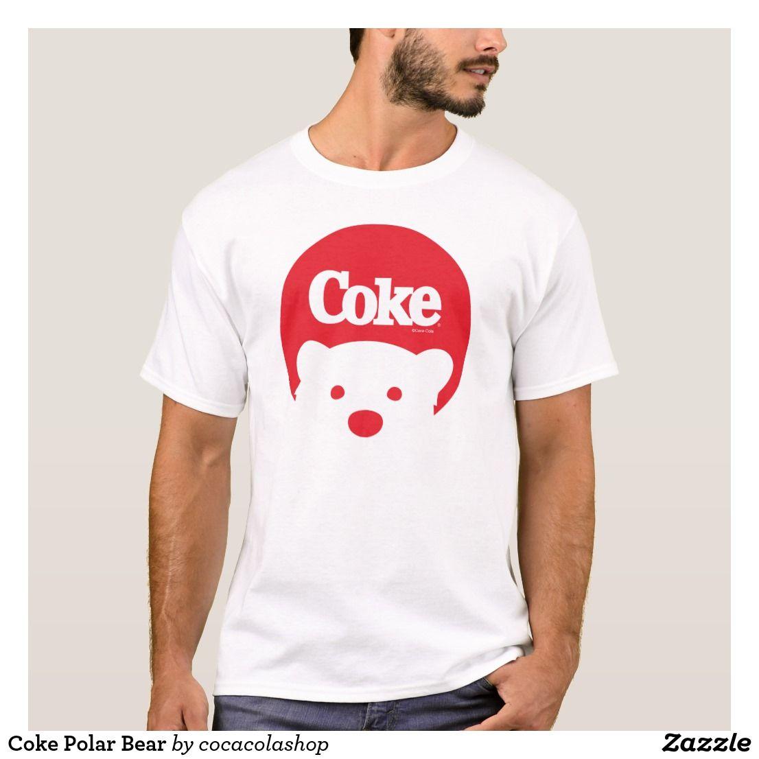 Coke Polar Bear TShirt (With images) Shirt designs