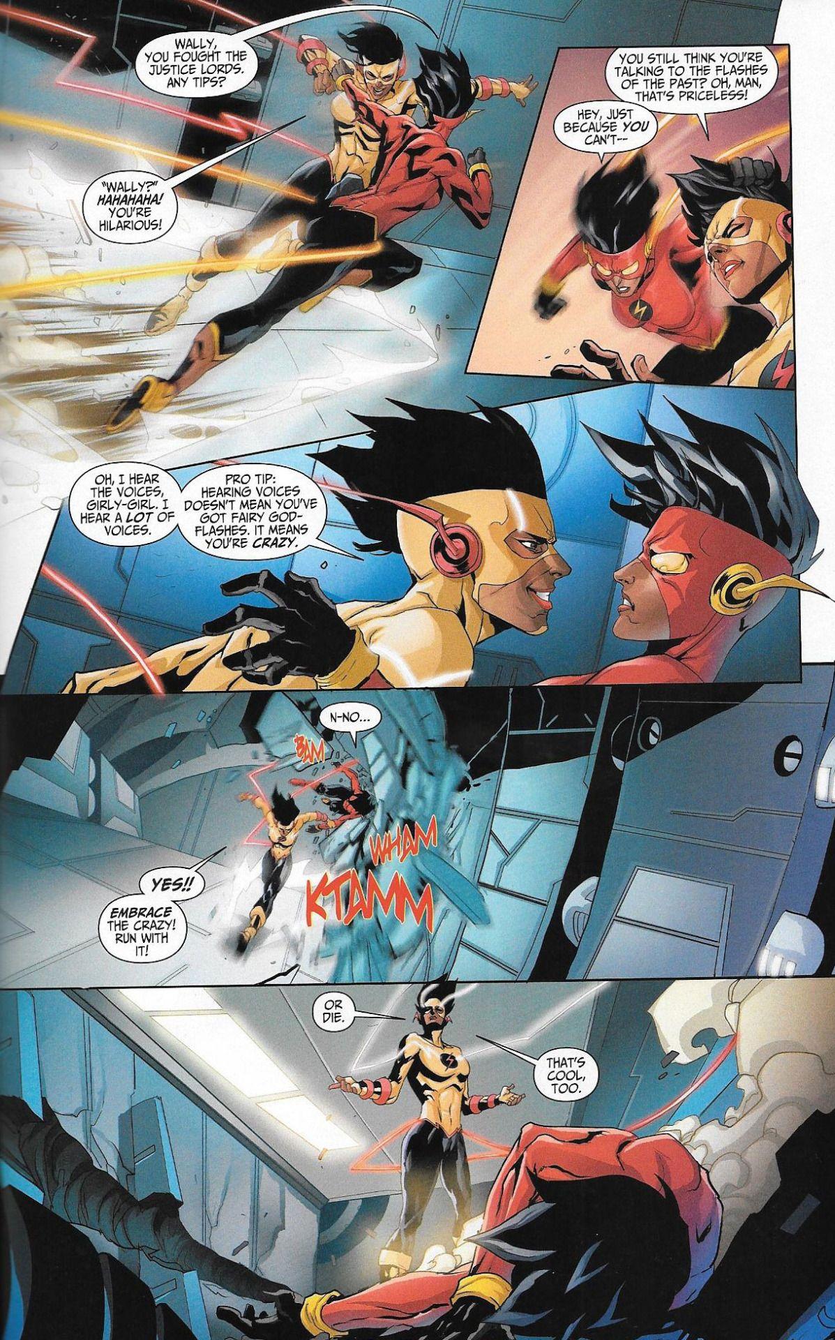 Celebrusc Flash Vs Reverse Flash From Batman Beyond 2 0