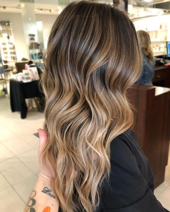 49 Beautiful Light Brown Hair Color For A New Look Brunette Hair Color Brown Hair Balayage Brown Hair With Blonde Highlights