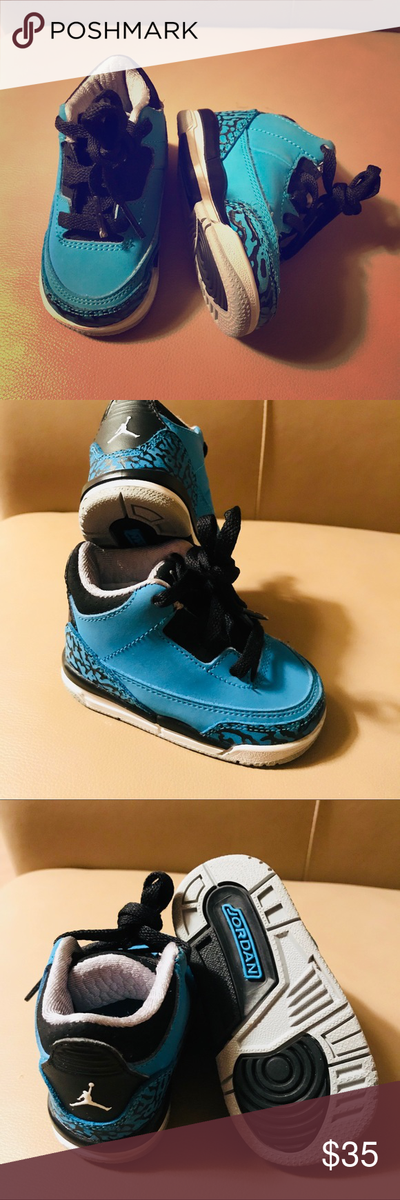 on sale 5cd58 9600f Powder blue 4s Retro 4 jordans powder blues size 4c in great ...