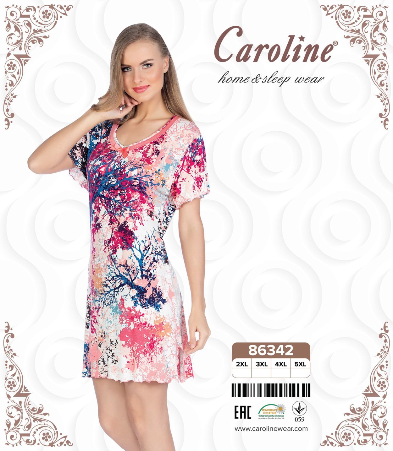 Caroline nightgown 2xl 5xl 17 women 39 s home wear - Design your own mobile home online ...