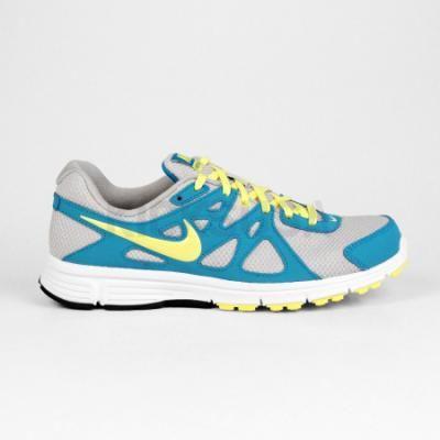 Nike - Revolution 2 Women's Running Shoe (Metallic Silver   Electric Yellow   Neon Turquoise)