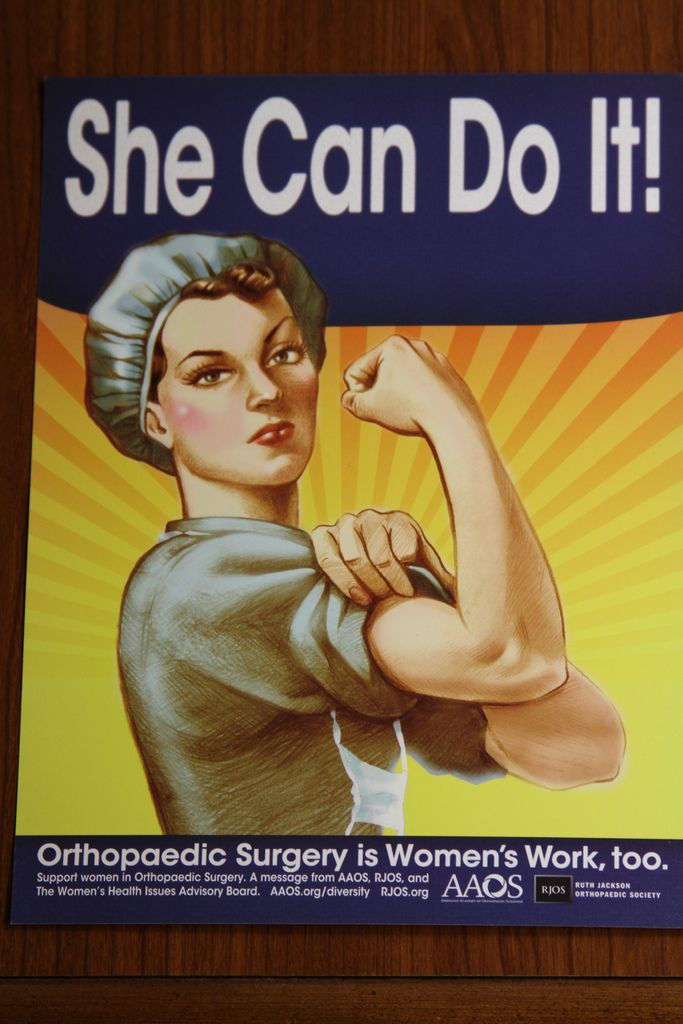 She can do it! | Orthopedic Surgery | Surgical tech