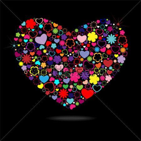 corazones de colores - Buscar con Google