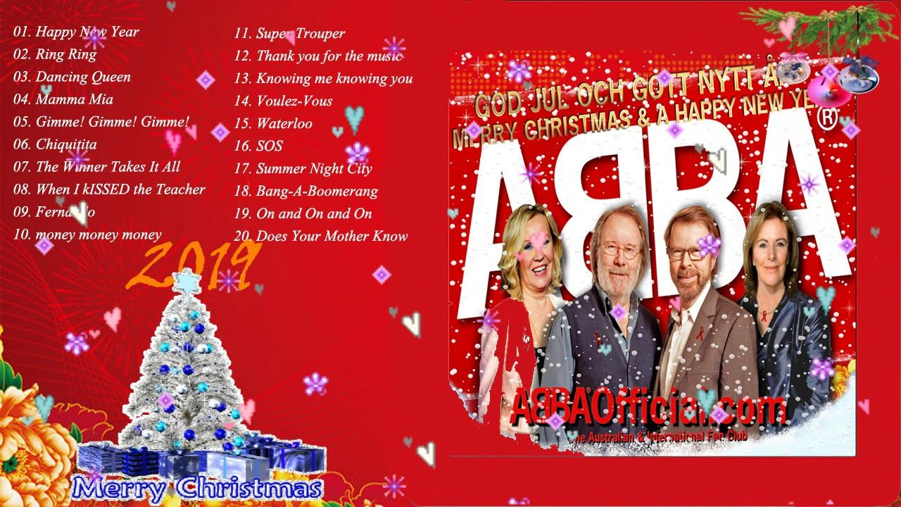Abba Abba Christmas Songs 2019 Happy New Year 2019 Repin