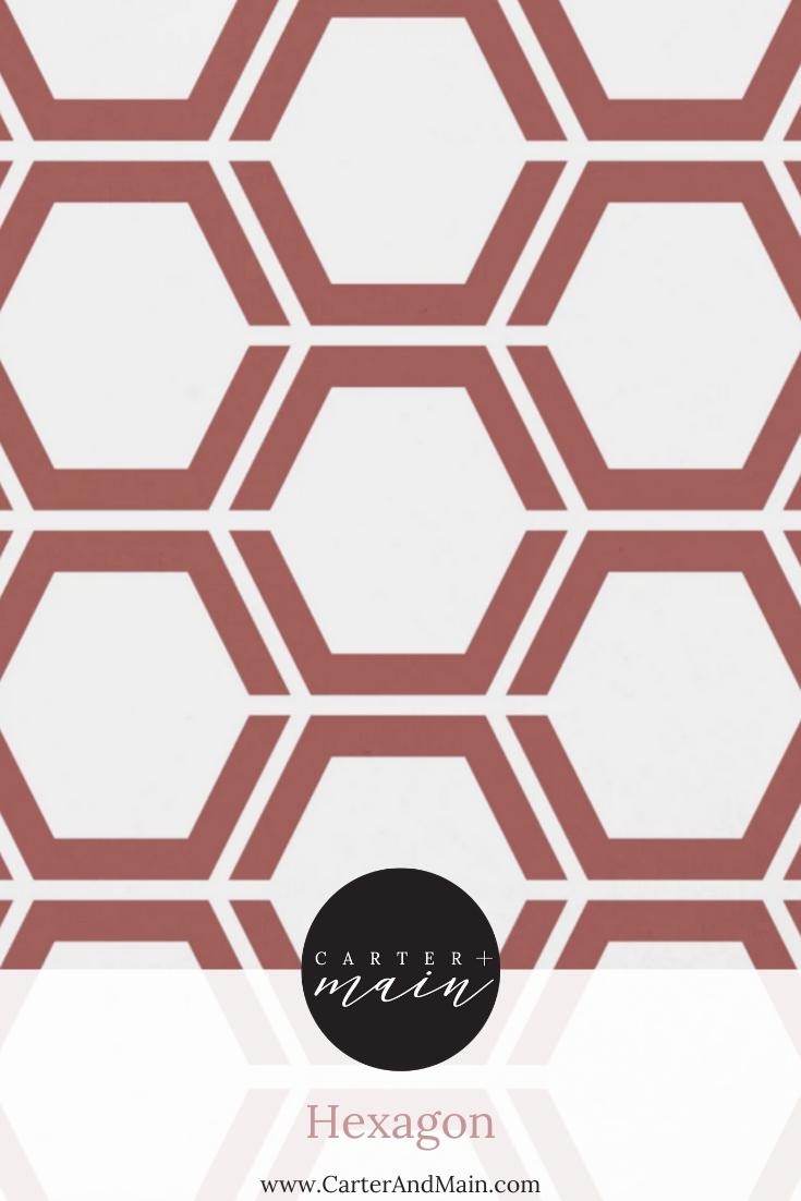 Hexagon Peel And Stick Wallpaper Geometric Pattern Wallpaper Hexagon