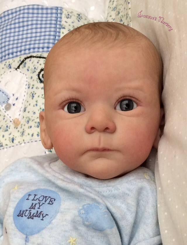 8d7bbc52b Joanna s Nursery ~ ADORABLE~ Reborn Baby BOY~ MATHIS by GUDRUN ...