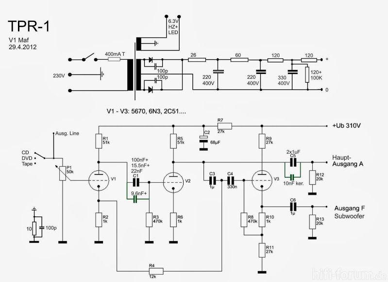 6n3p amplifier