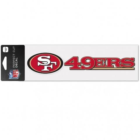 Variety of Teams Available Wincraft NFL 3x10 Pefect Cut Car Decal