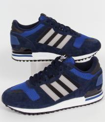 Adidas zx 700 addetti alla marina / grigio / blu reale, formatori, scarpe e