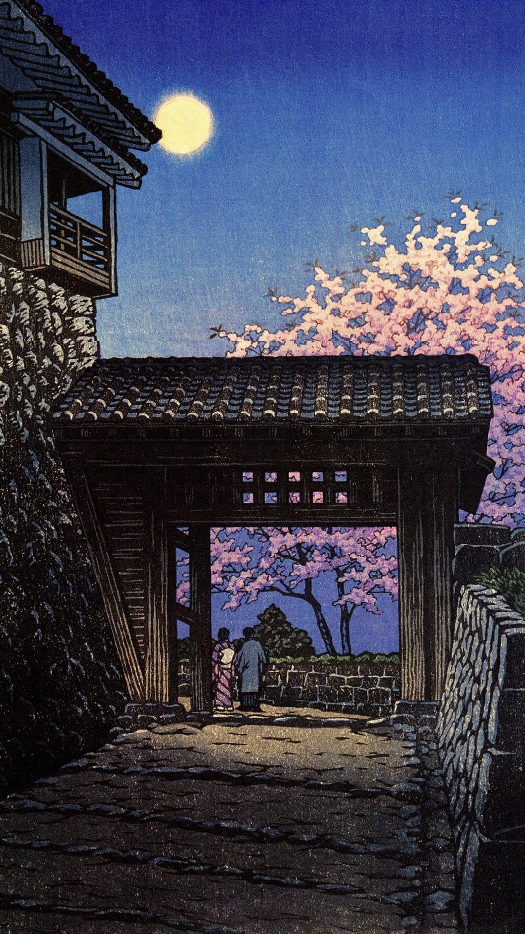夜桜 | iPhone13,スマホ壁紙/待受画像ギャラリー