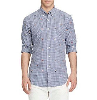 Polo Ralph Lauren® Men's Standard Fit Button Down Shirt