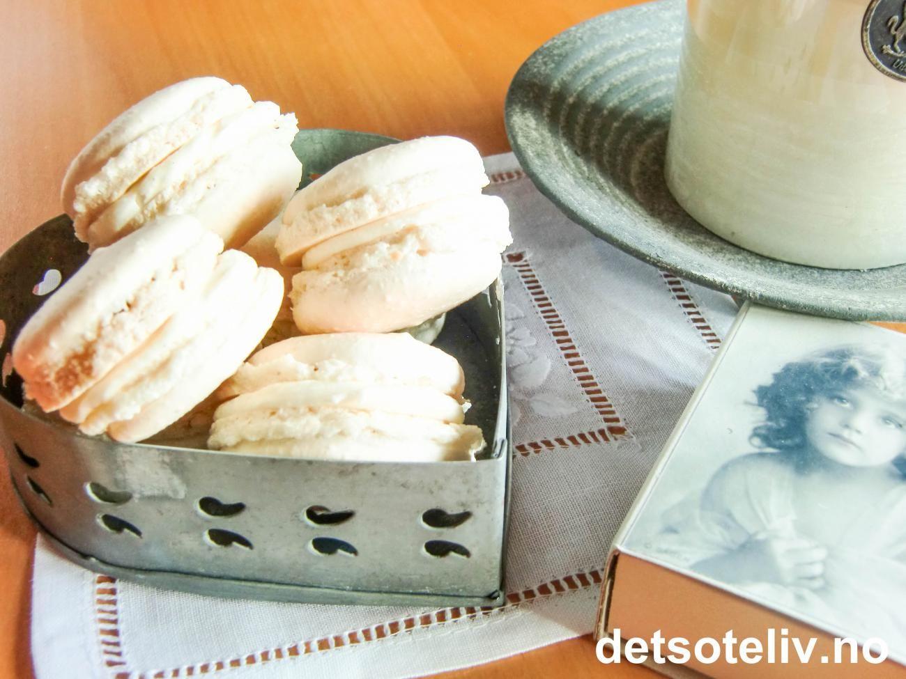 Vanilla Macarons | Det søte liv