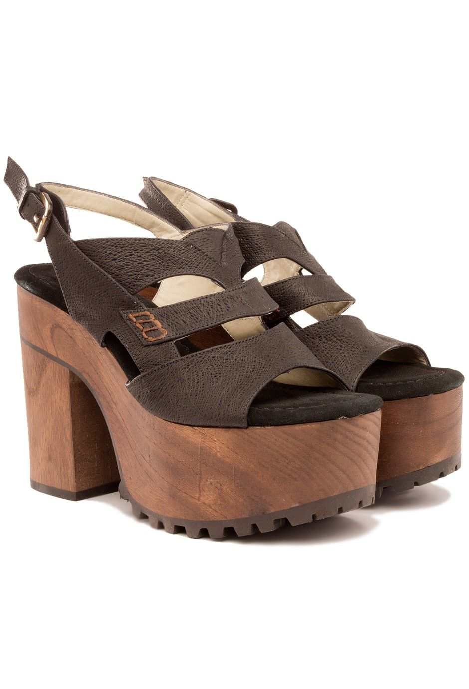 c3aa725402 Plataformas Gia negro - Pepe Cantero - online   Shoes   Zapatos ...