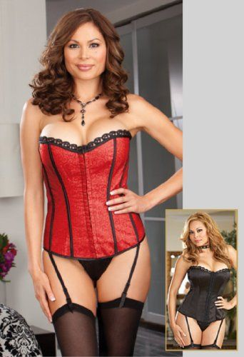 2add9a3f9d Plus Size Shelf Corset