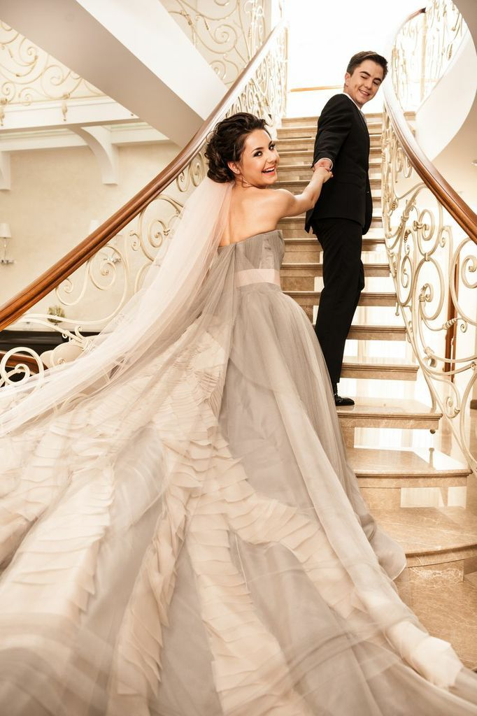 Vera Wang Real Wedding