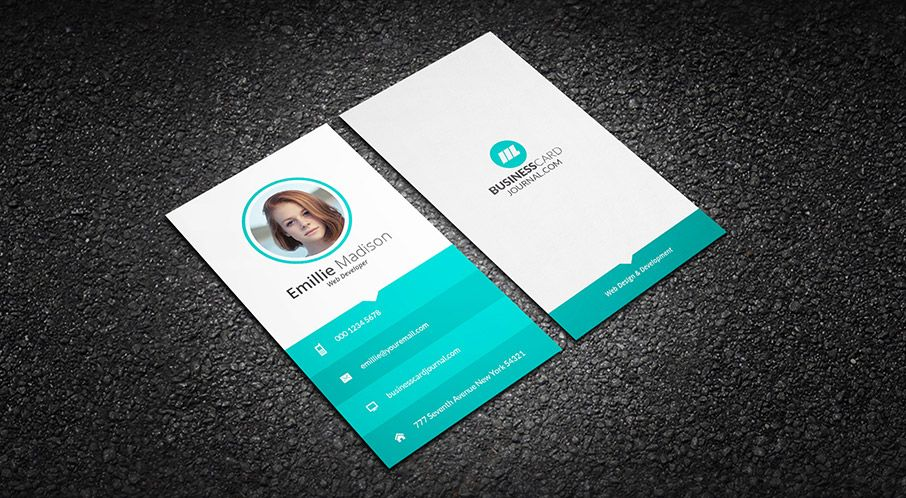 Free Classy \ Elegant Vintage Business Card Template u003du003e More at - id card psd template