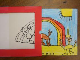 Mrs. T's First Grade Class: Magic Art