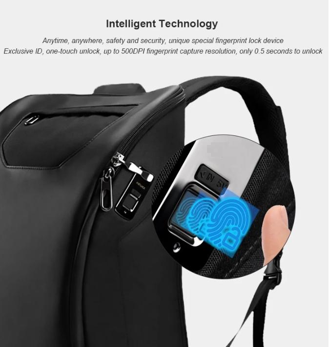 Pro Alpha Bags with fingerprint lock technology