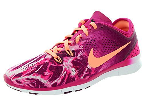 new arrival 21557 2addd Nike Women s Free 5.0 Tr Fit 5 Prt Fireberry Snst Glow Mlbrry Blk · Training  ShoesAthletic ...