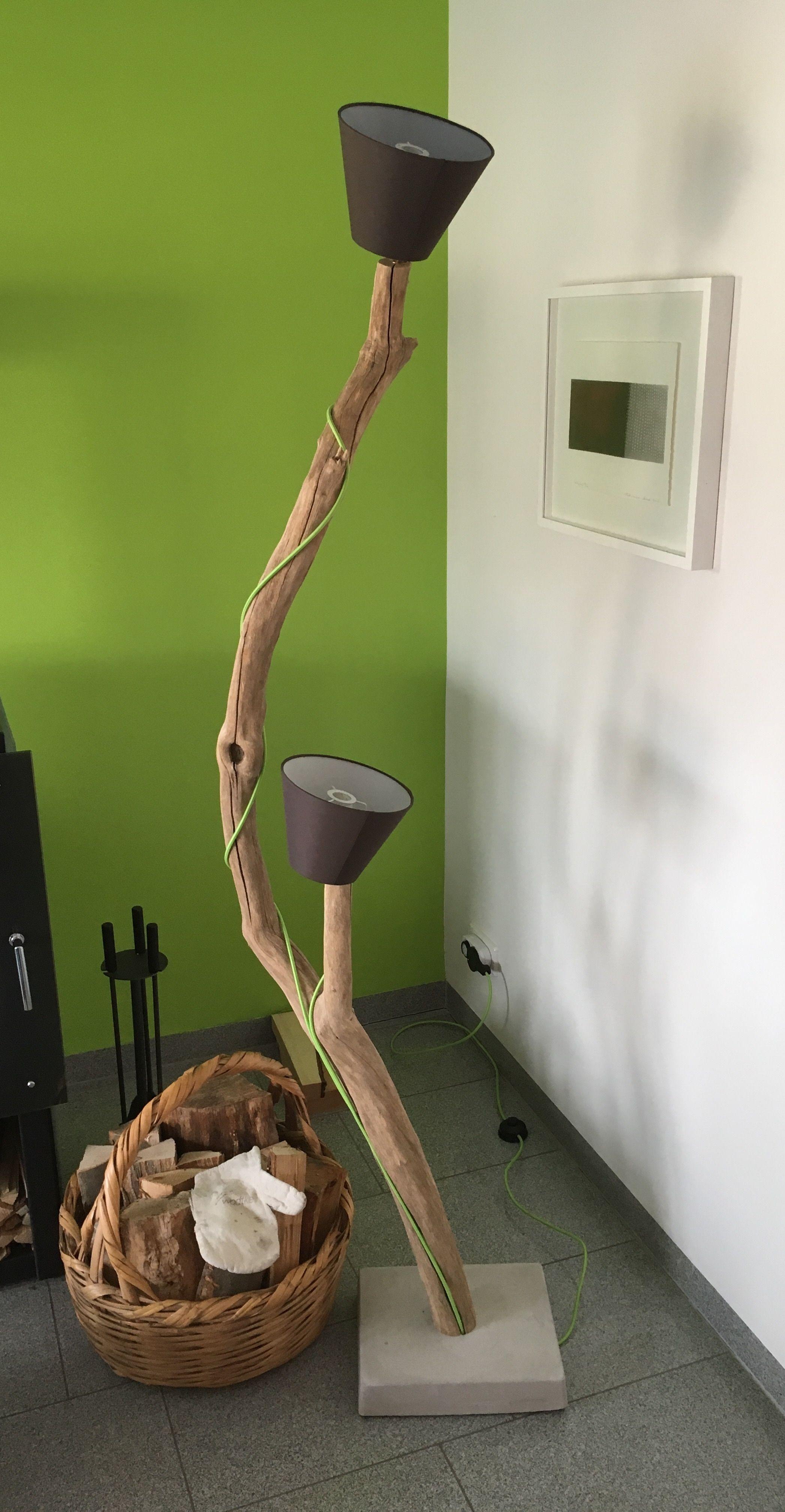 Treibholz Stehlampe Treibholz Selbermachen Kreative Ideen