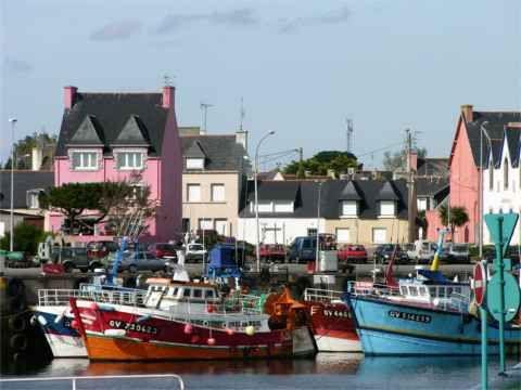 TREFFIAGAT-Le-GUILVINEC-vu-du-Port-de-LECHIAGAT at 29S-Le-Bout-du-Monde-Finistère-Sud