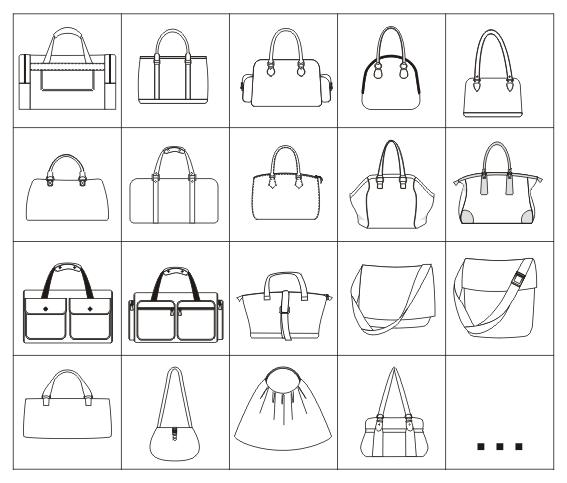 Les Bibliothèques de vêtements vectoriels au format ai pour Adobe ...