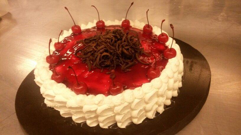 Cake de frambuezas