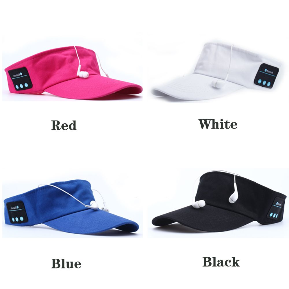 5789670984d 2017 Latest Summer Bluetooth Music Hat Smart Sun Hat Outdoor Sports Stereo Music  Headset with Speaker Bluetooth Cap Hat