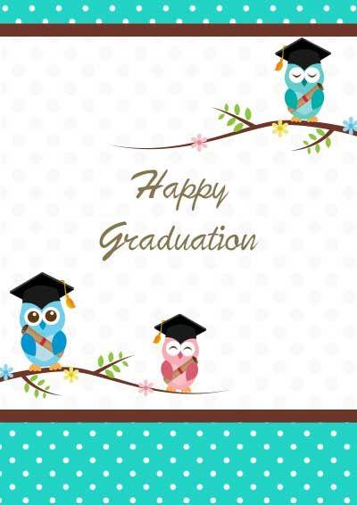 free graduation cards to print