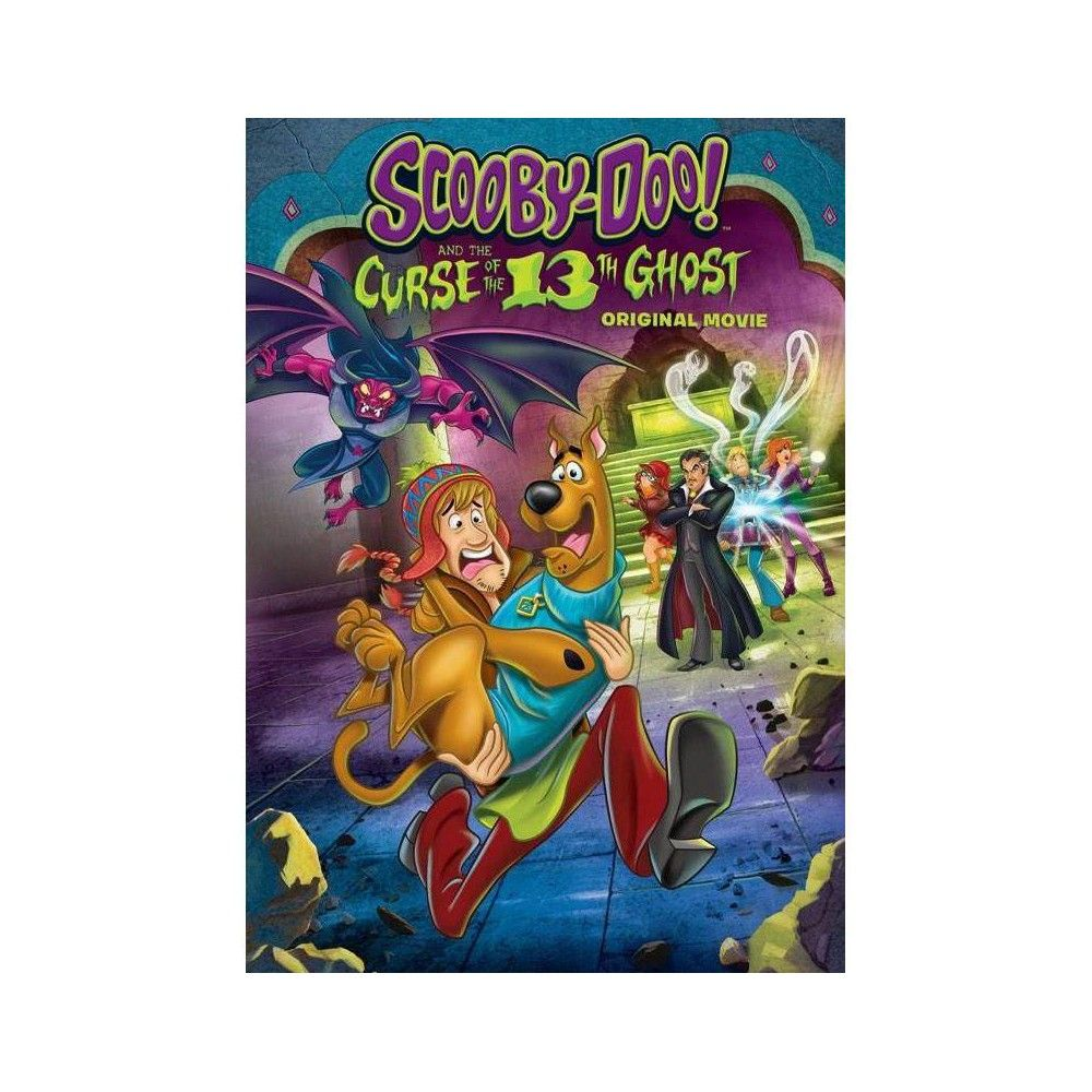 Scooby Doo And The Curse Of The 13th Ghost Dvd In 2021 Shaggy And Scooby Ghost Film Scooby Doo