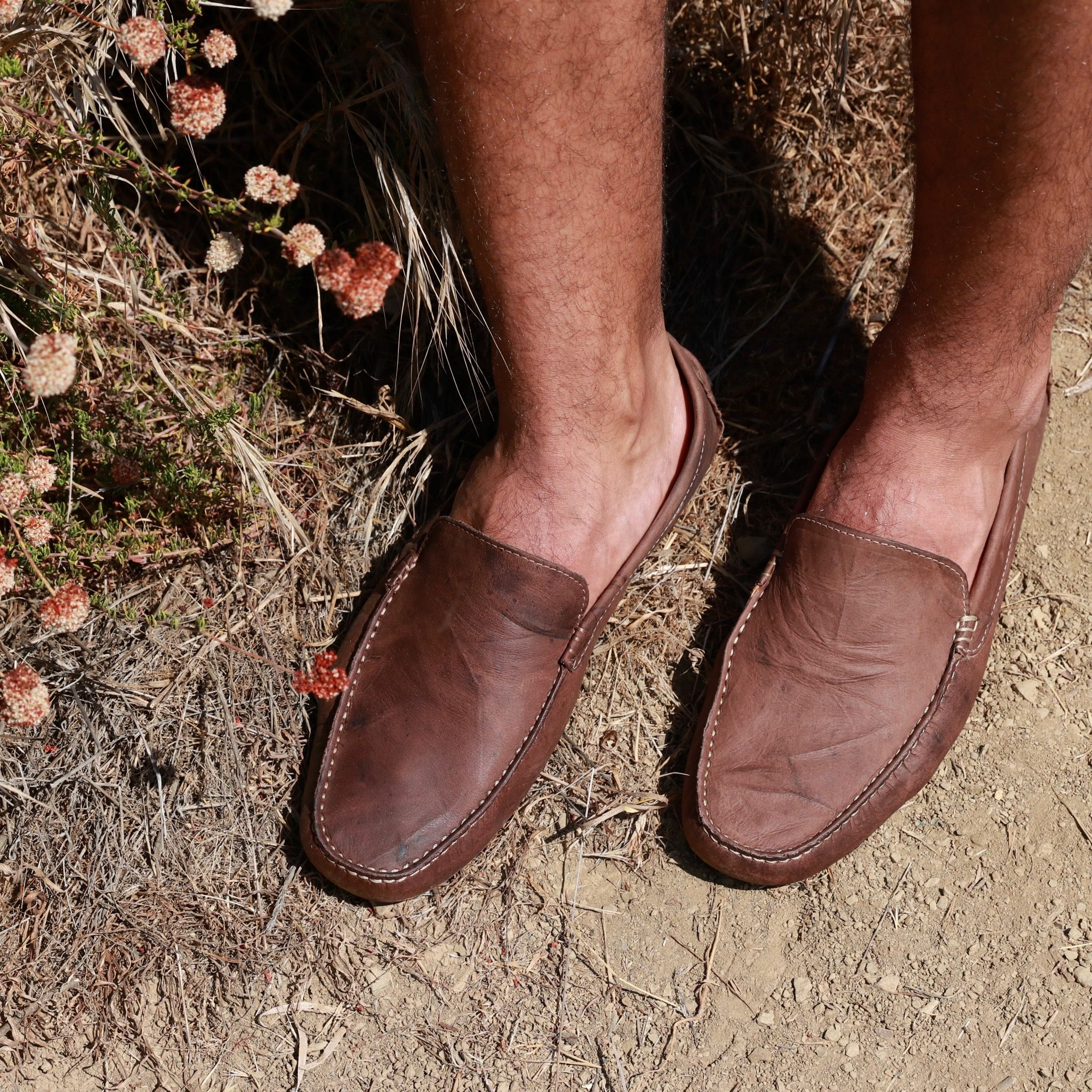 cheap for discount on feet at new york Men's Wood Brown
