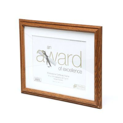 Charlton Home Supreme Award and Document Frame