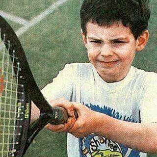 Little Andy Murray.