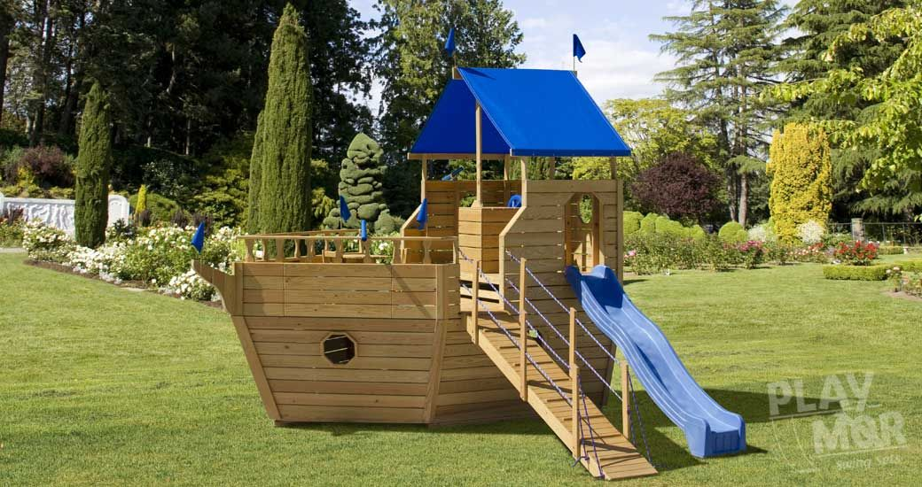 Voyager Yacht S.S. Discovery Play Set | New Home Backyard Play ...