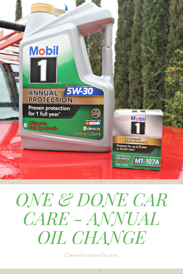 One & Done Car Care - Annual Oil Change   Real Mommy Stuff   Oil