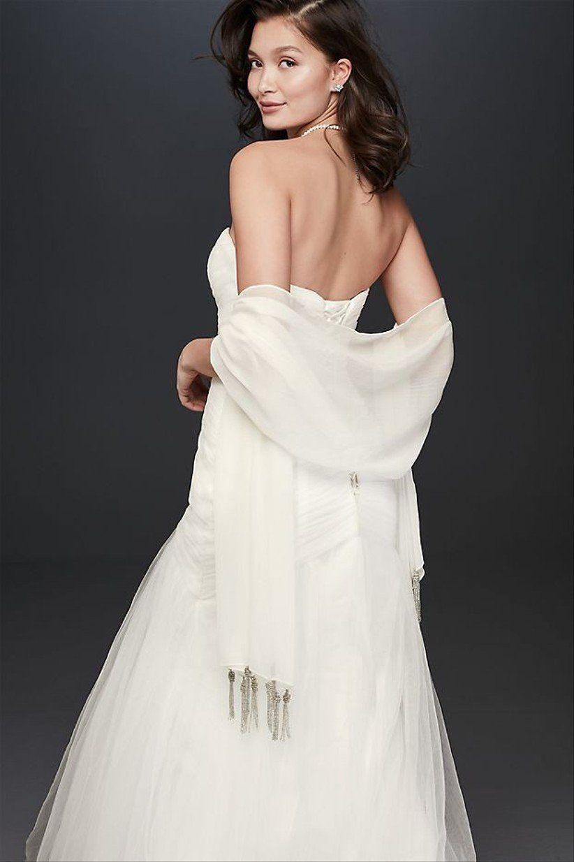 shawl for dress wedding