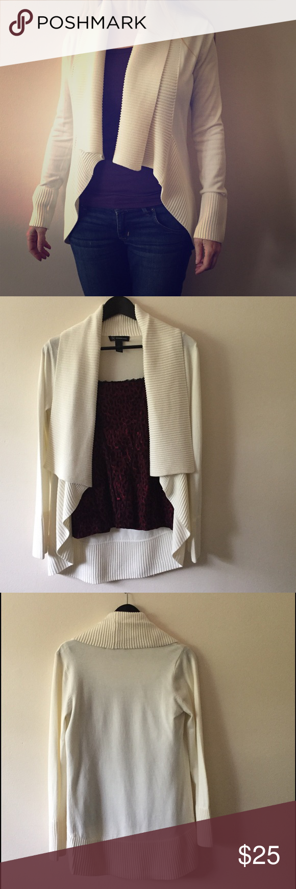 INC International Concepts Cardigan from Macy's Beautiful cream ...