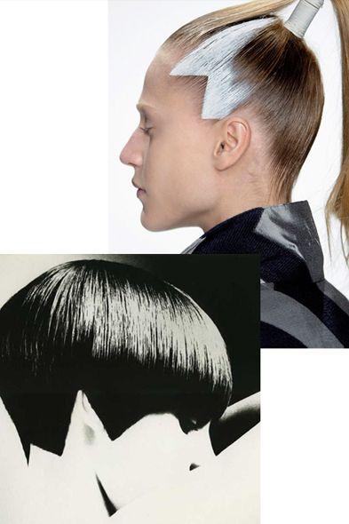 Issey Miyake hair for Fall '11