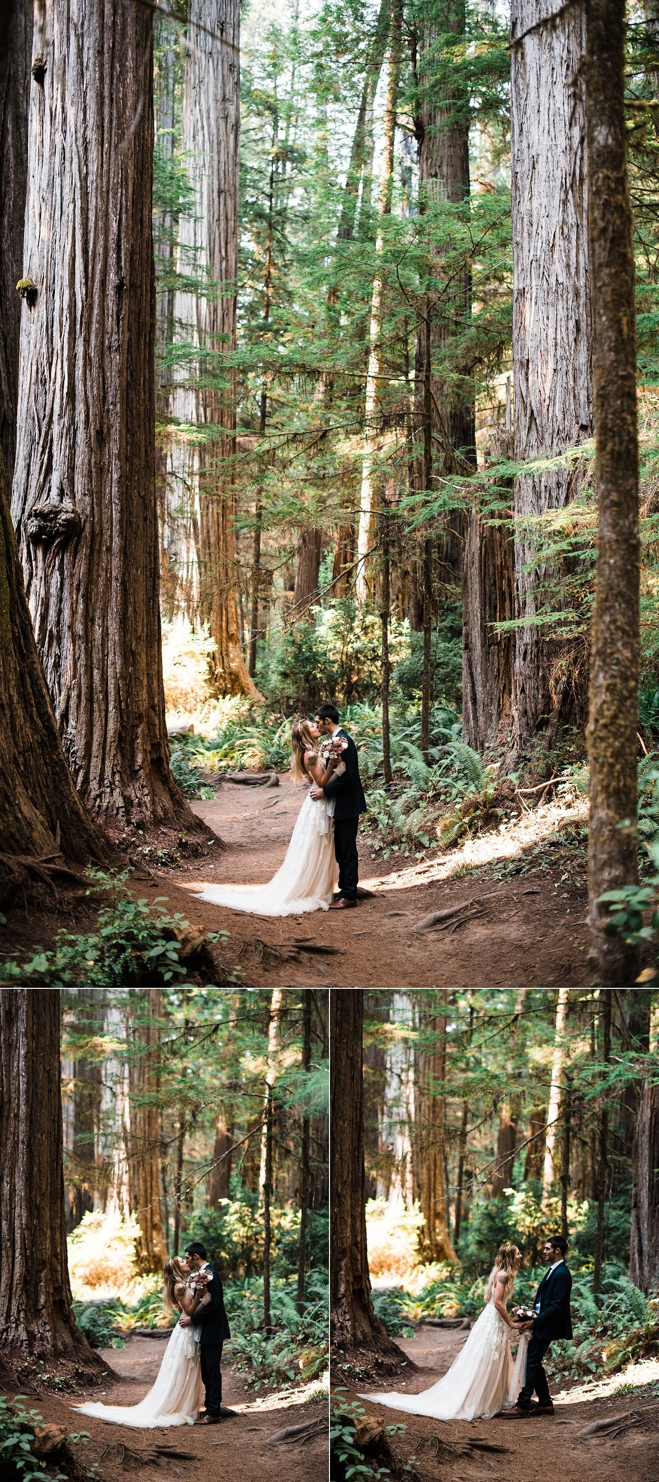 A redwoods elopement wedding check out this adventure